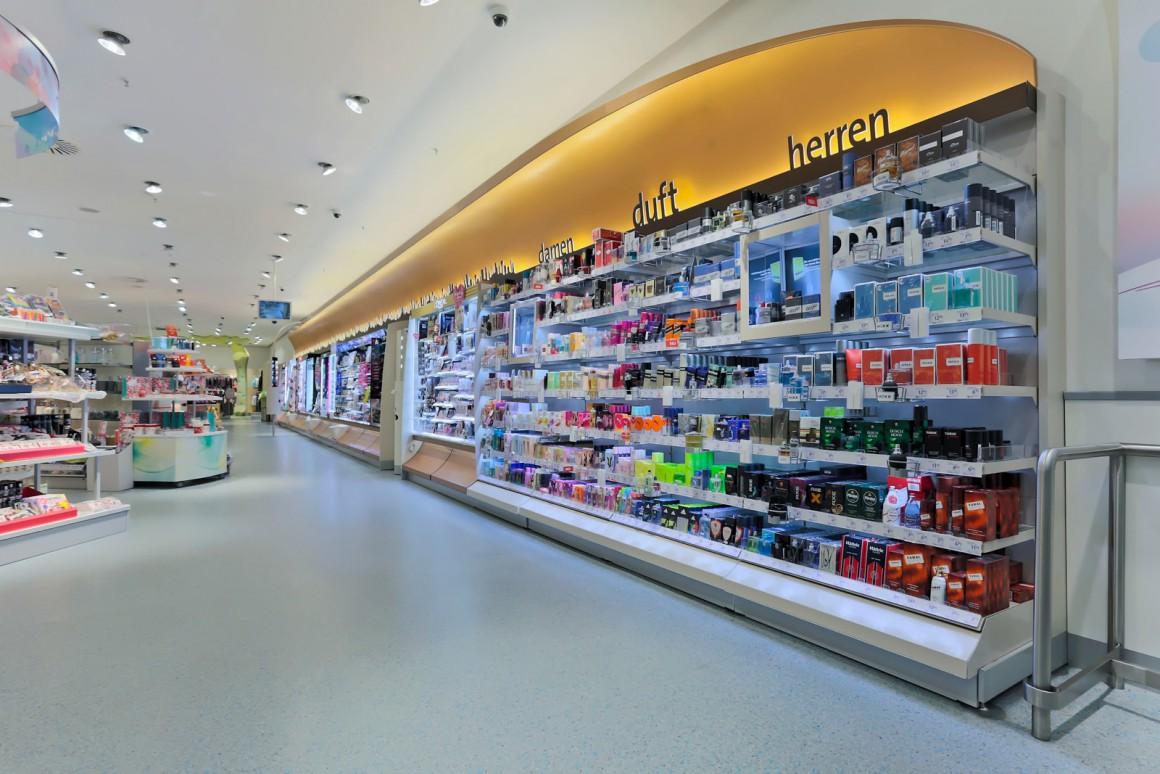Deko 1 Konzeptentwicklung des Schönheitsbereichs von dm-drogerie markt Deutschland
