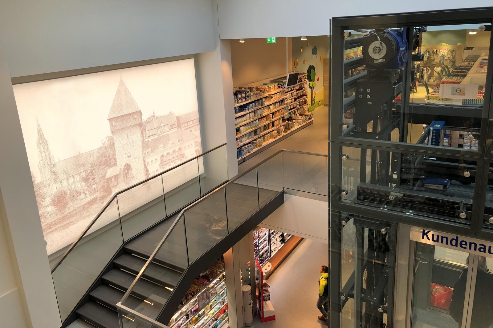 Innenarchitektur Konstanz dm drogerie markt treppenhaus konstanz lay architekten