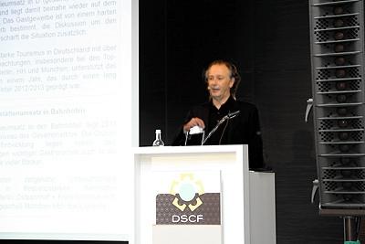 Vortrag von Christoph Lay beim DSCF (Deutschen Shopping-Center Forum)