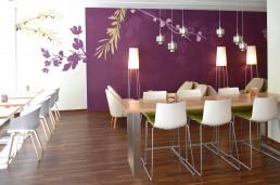 Restaurant Mi Piace Muenchen umgesetzt von LAY InnenArchitekten.